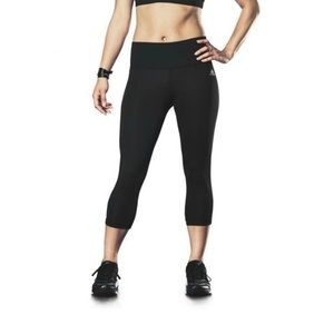 adidas Climalite Black Workout Cropped Tights | S